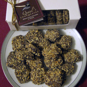 vermont made buttercrunch Quayls Chocolates